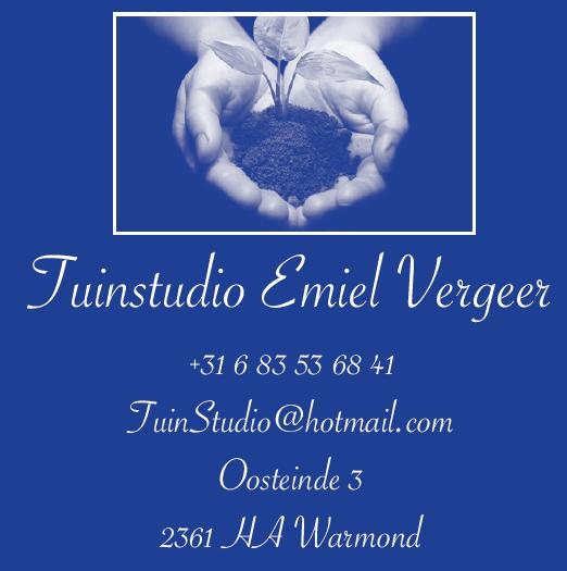 Logo tuinstudio Emiel Vergeer